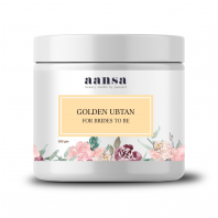Aansa's Golden Ubtan For Brides to be