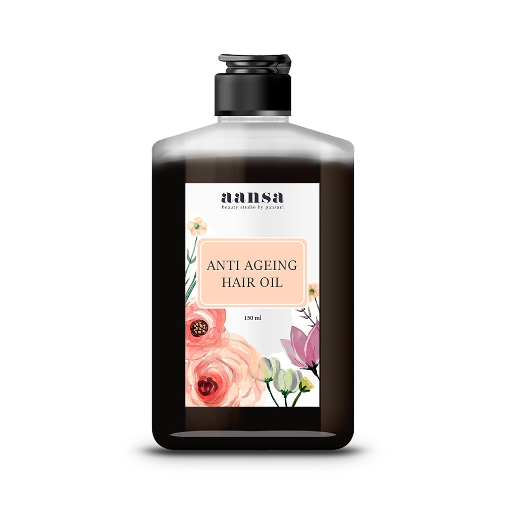 Aansa's Anti Ageing Hair Oil